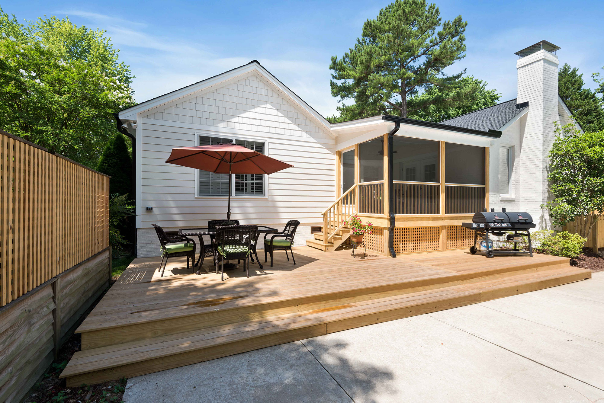 outdoor living; Raleigh