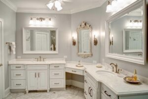 Baker master bathroom