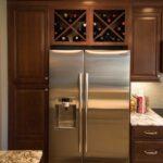 Wine Storage Above Refrigerator