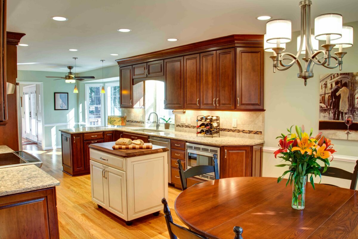 Improving the Sight-Line in This Raleigh Kitchen Remodel
