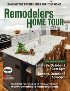 2021 Remodelers Home Tour magazine cover